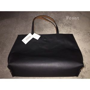 Justfab black handbag